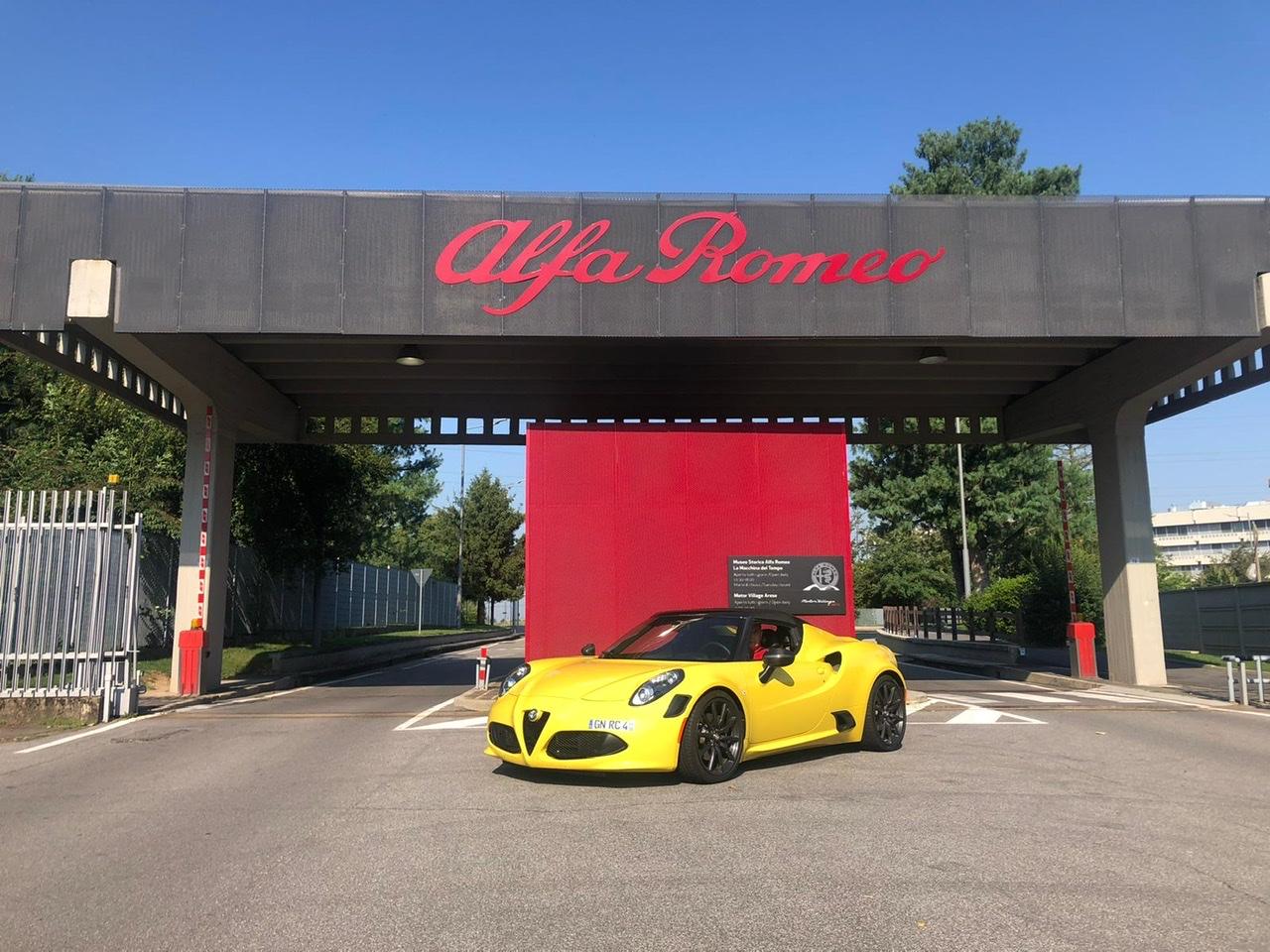 Alfa Romeo feiert 110. Geburtstag in Arese / Italien