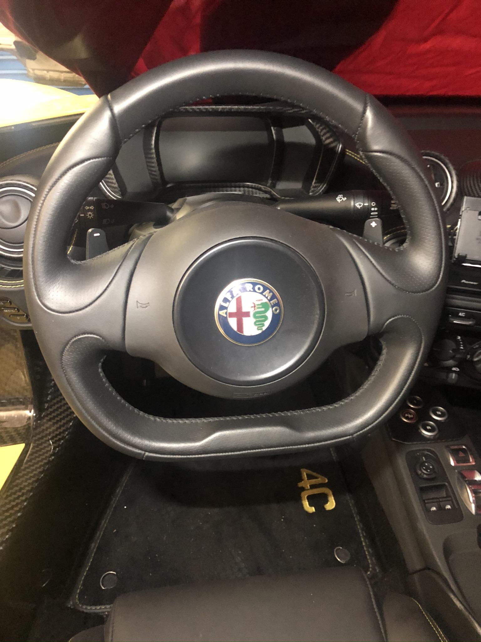 Lenkrad-Nabenverlängerung für Alfa Romeo 4C