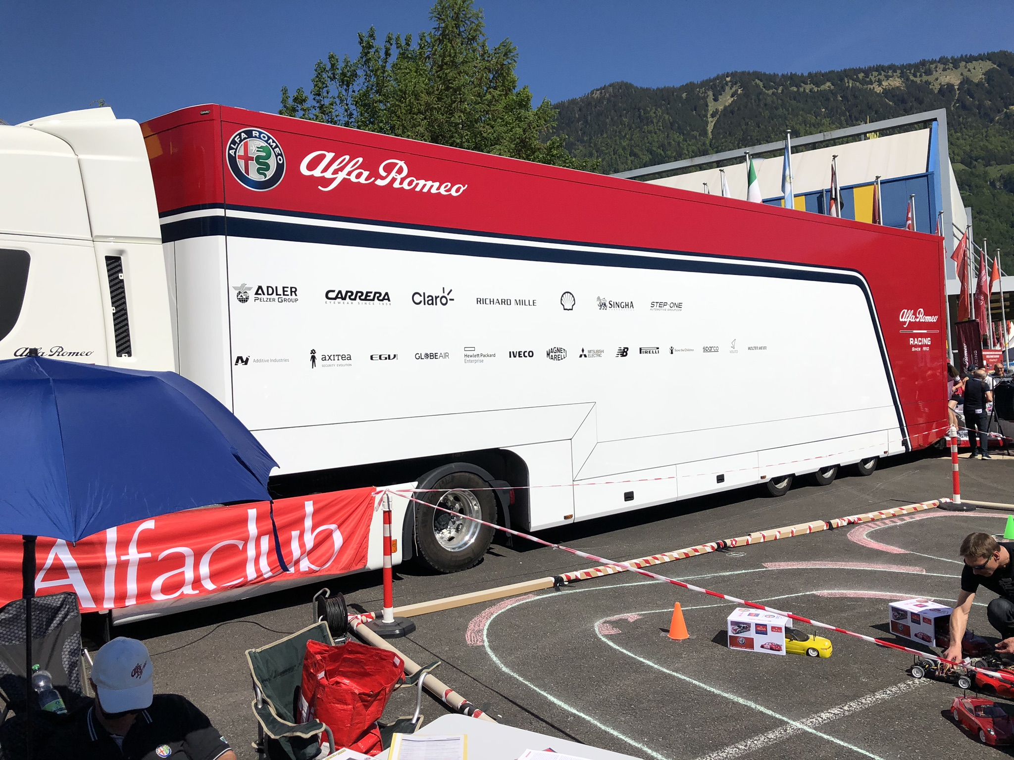 Am letzten Wochenende war der Alfadoktor mit seinem Alfa Romeo RZ zu Gast beim Alfa Romeo Passion Meeting