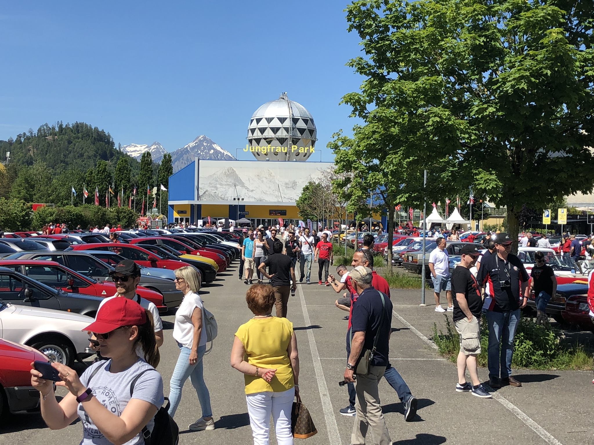 Alfa Romeo Passion Meeting in Interlaken